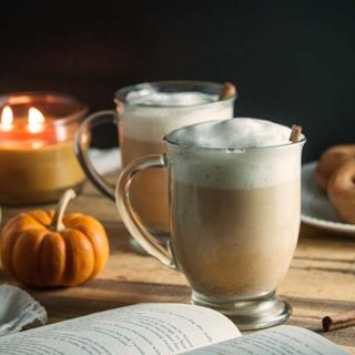 Homemade Pumpkin Spice Chai Latte