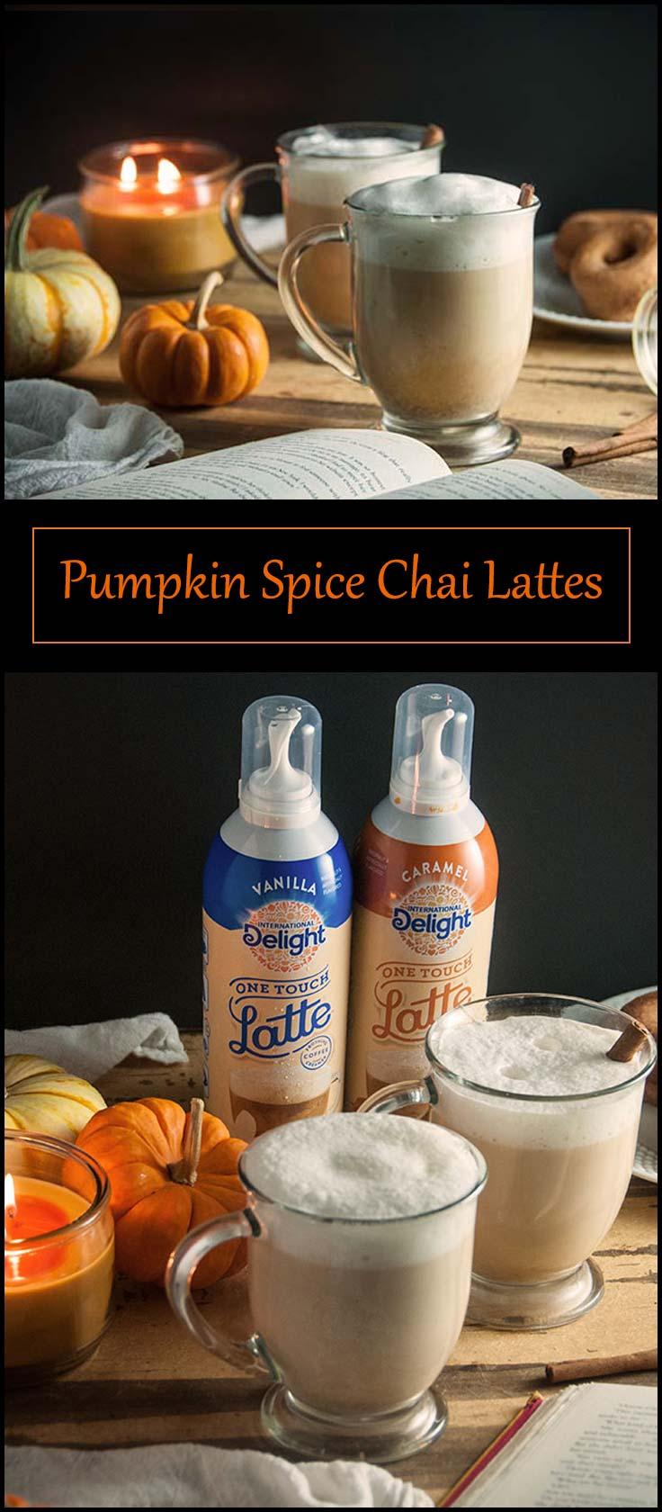Easy Pumpkin Spice Chai Latte from www.seasonedsprinkles.com