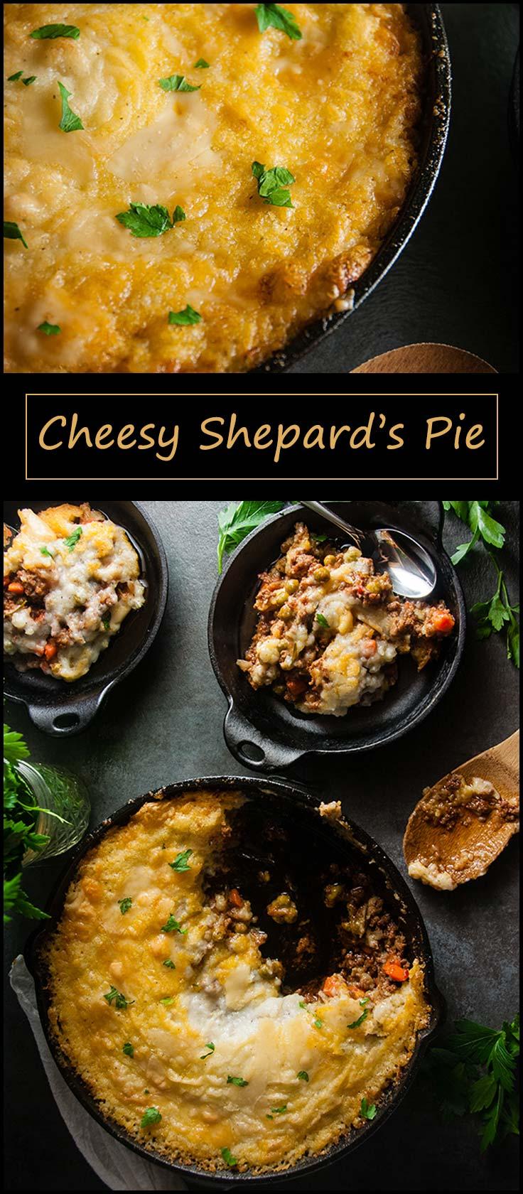 Cheesy Shepard's Pie from www.seasonedsprinkles.com
