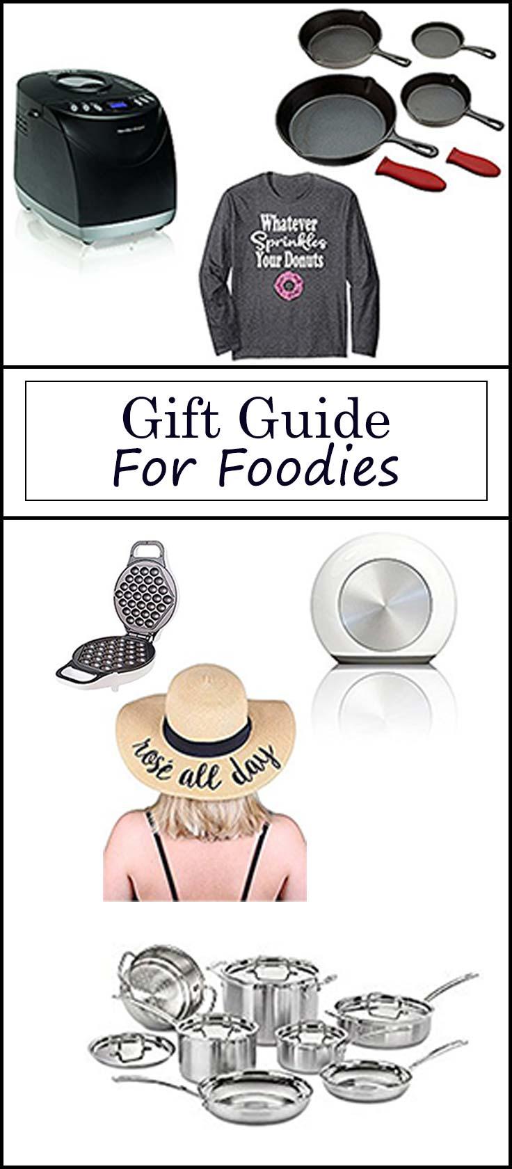 Gift Guide for Foodiesfrom www.seasonedsprinkles.com