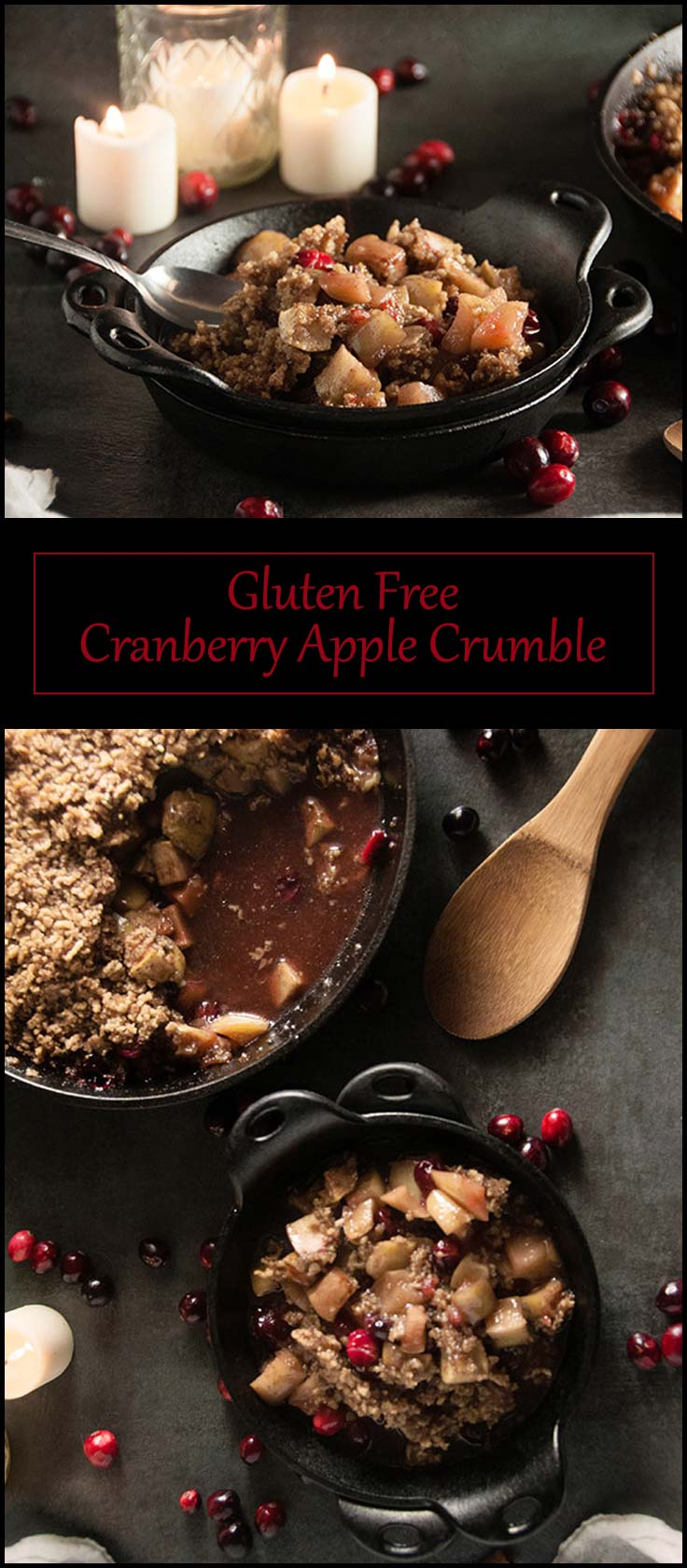 Gluten Free Cranberry Apple Crumble from www.seasonedsprinkles.com