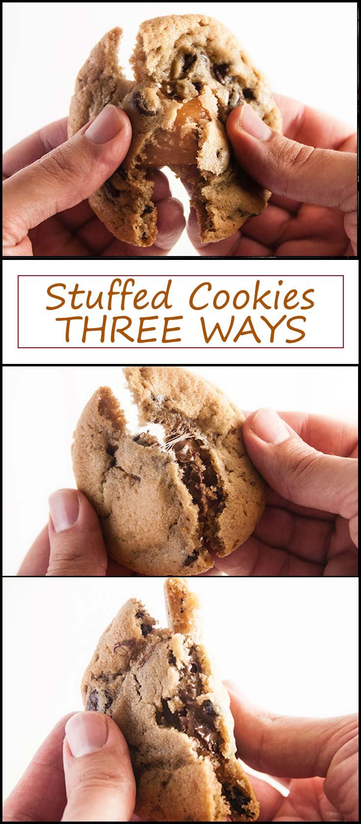 Stuffed Cookies Three Ways from www.seasonedsprinkles.com
