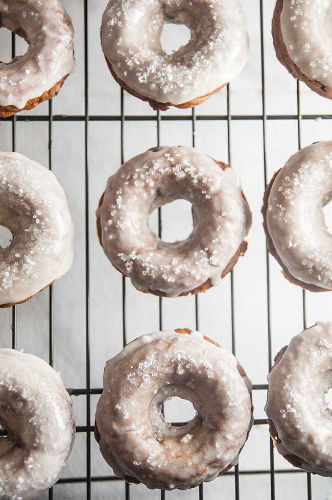 Easy Gingerbread Donuts