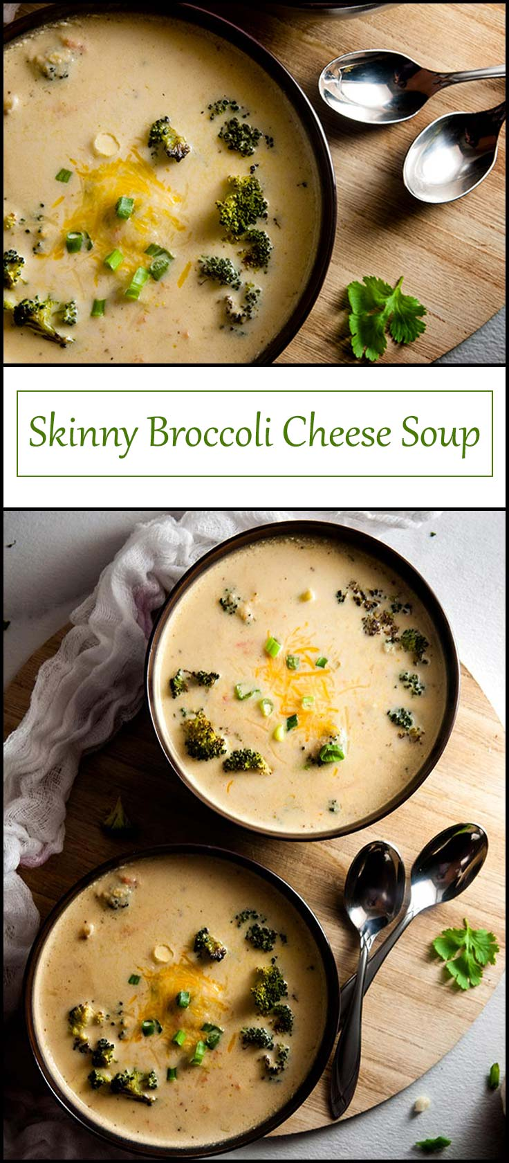 Skinny Broccoli Cheese Soup with Hidden Veggies from www.seasonedsprinkles.com