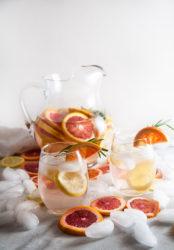 Winter Citrus Spa Water