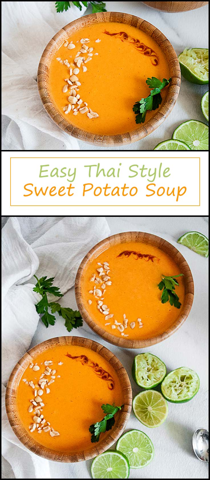 Thai Sweet Potato Soup that can be made totally in the microwave from www.seasonedsprinkles.com