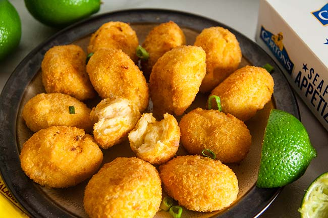 Gorton's Seafood Appetizers - Mac & Cheese Shrimp Bites