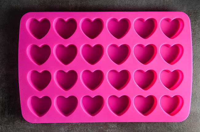 Silicone Heart Molds