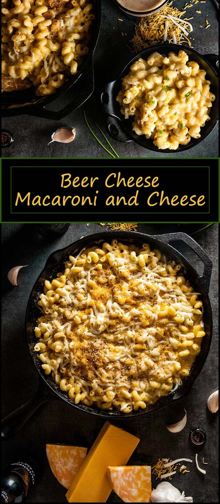 This Beer Cheese Macaroni and Cheese with Guinness beer cheese recipe makes a quick comforting dinner for St. Patrick's Day from www.seasonedsprinkles.com
