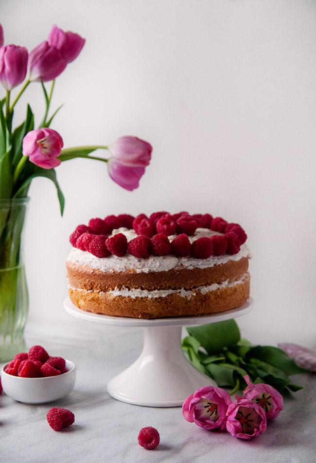 The ultimate in cake mix hacks: honey vanilla cake with homemade honey buttercream