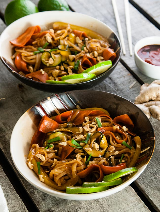 Thai Chili Lime Noodles