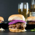 Beer Cheese Stuffed Burgers