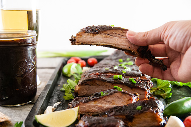 Beer Barbecue Ribs
