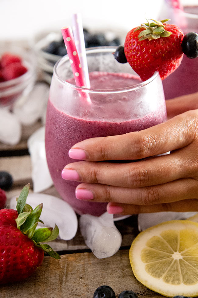 Sunshine Citrus Berry Smoothies