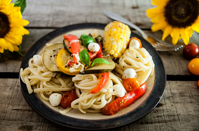 End of Summer Harvest Pasta