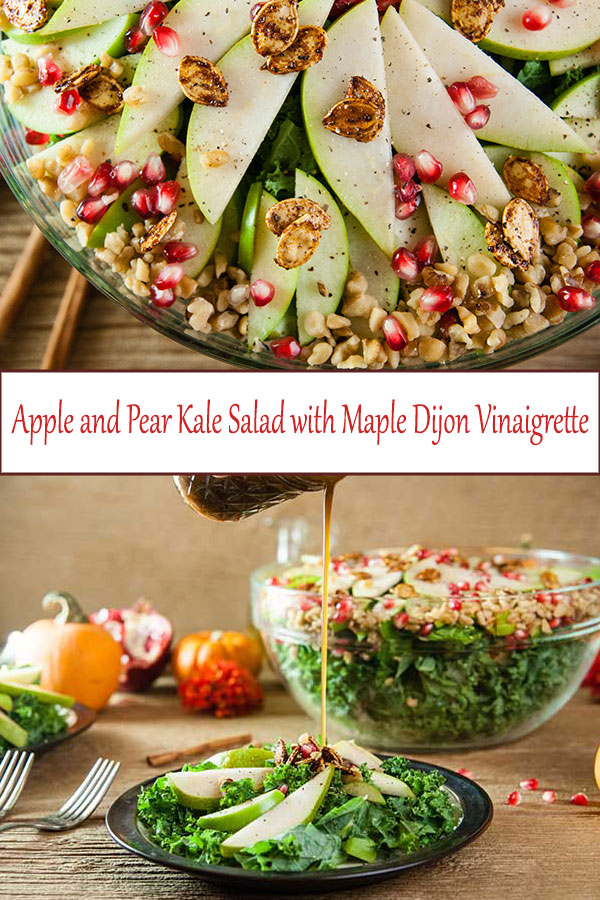 The perfect appetizer salad recipe for Thanksgiving, Friendsgiving, or Christmas also makes a delicious and easy lunch from www.SeasonedSprinkles.com