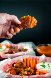 Easy Bacon Wrapped Buffalo Wings Two Ways