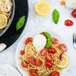 Tomato Pasta with Burrata