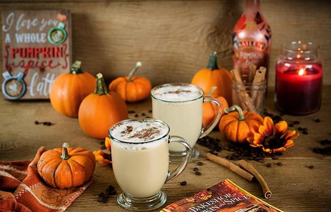 Boozy Pumpkin Spice Lattes