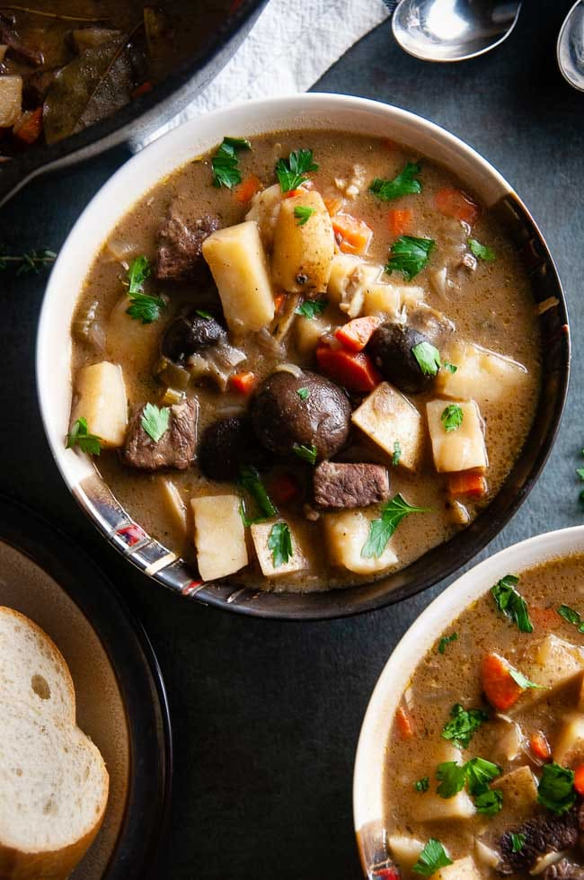 Dutch Oven Beef Stew is a yummy baked beef stew recipe