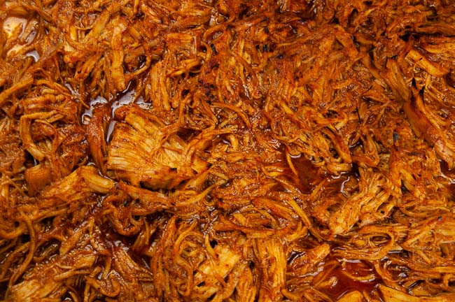 Shredded Instant Pot Barbecue Chicken