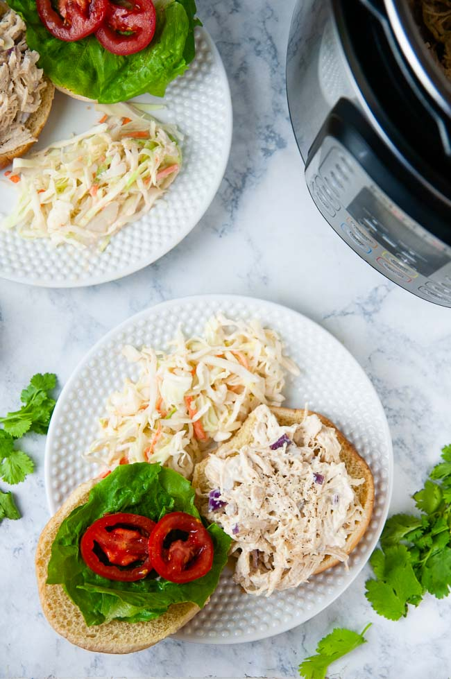 Instant Pot Chicken Salad with Honey Mustard is a tasty lunch option.