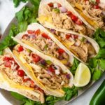 Instant Pot chicken tacos are the perfect Taco Tuesday dinner