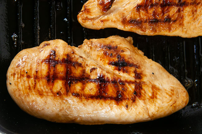Orange ginger Asian chicken is full of fresh flavor.