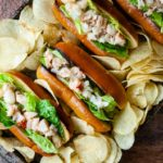 Buttery Connecticut Lobster Rolls are a delicious warm alternative to Maine lobster rolls
