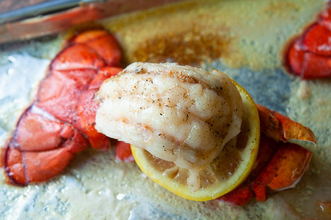 Broiling adds a new layer of flavor to lobster tail