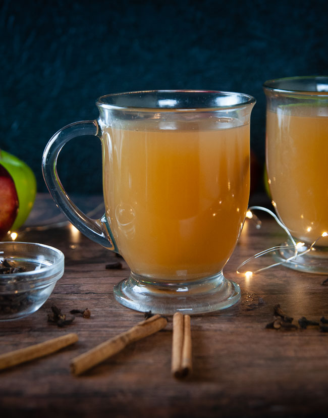 Homemade Instant Pot Apple Cider