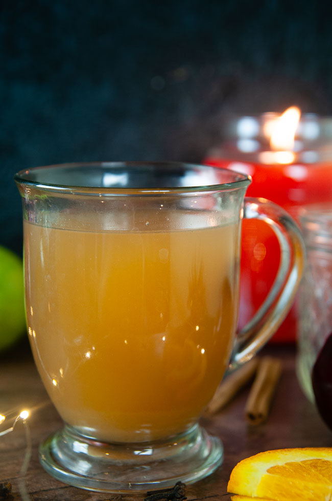 Homemade Apple Cider is the perfect warm drink for fall and winter