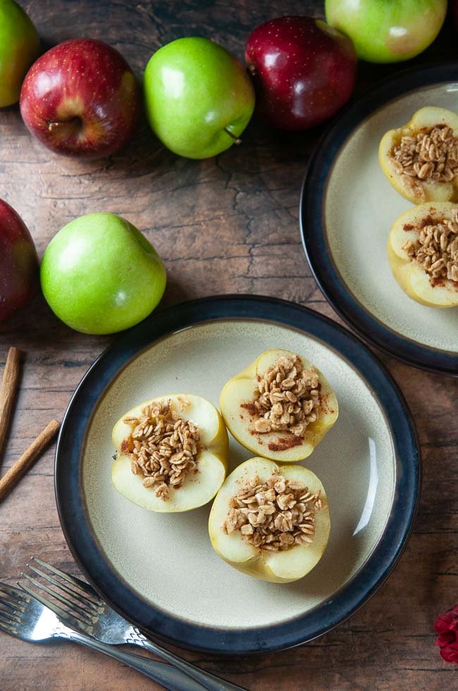 Instant Pot stuffed apples are a delicious breakfast or a healthy, yummy dessert.