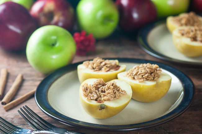 Instant Pot Stuffed Apples are a delicious breakfast or a light dessert.