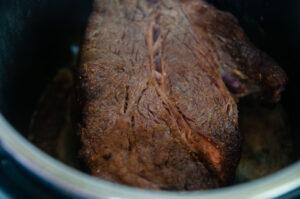 Seared Instant Pot Roast Beef